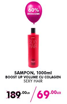 Sampon Sexy Hair Boost Up Volume Cu Colagen 1l