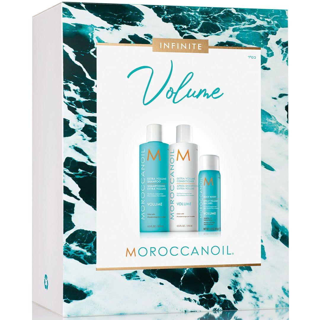 Set Par Moroccanoil Spring Volume 250ml+ 250ml+ 20ml