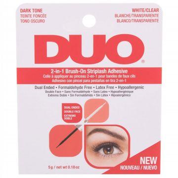 Лепило за изкуствени мигли DUO 2in1 Dark&Clear 5гр