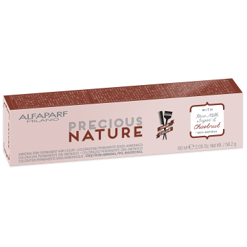 Vopsea de par fara amoniac Alfaparf Milano Precious Nature 4 Saten Natural Inchis Mediu 60ml