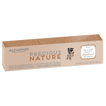 Vopsea de par fara amoniac Alfaparf Milano Precious Nature 10.1 Blond Cenusiu Luminos 60ml