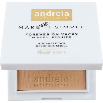 Бронзираща пудра Andreia Forever On Vacay Mineral Matte 02 7гр