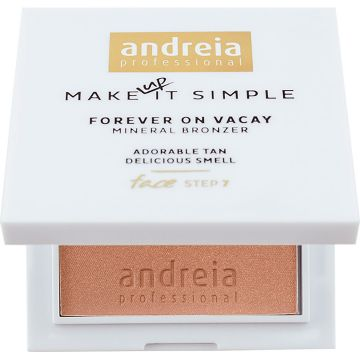 Pudra Bronzanta Andreia Forever On Vacay Mineral Glow 02 7g