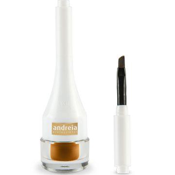 Tus De Ochi Andreia 2 In 1 Is This Real - Gel Eyeliner & Smokey Eyes 01 2.5ml