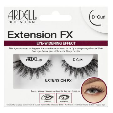 Изкуствени мигли  Ardell Extension FX D Curl