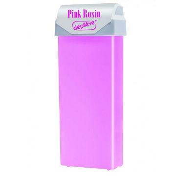Ceara epilatoare Depileve Pink cu aplicator 100g