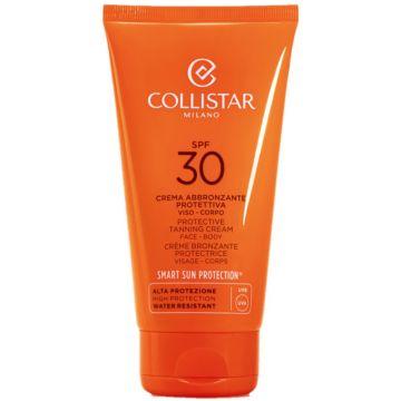 Crema de corp Collistar cu protectie solara Tanning Ultra SPF30 150ml