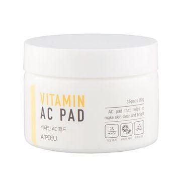 Discuri exfoliante pentru fata Apieu Vitamin AC 35buc