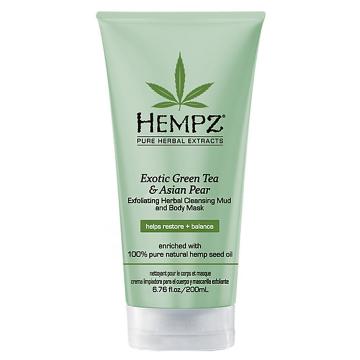 Ексфолиант за тяло Hempz Exotic Green Tea&Asian Pear 200мл