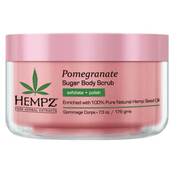 Ексфолиант за тяло Hempz Pomegranate Sugar 176g