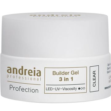 Gel constructie unghii Andreia Profection Gel Builder 3in1 Clear 22g
