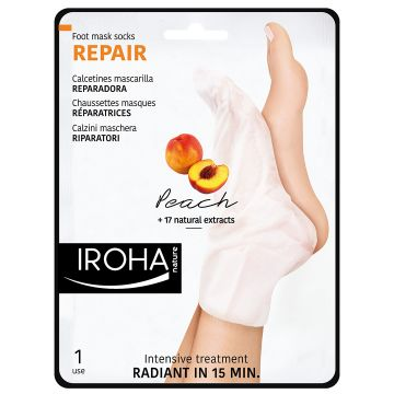 Sosete tratament Iroha Repair Peach 18ml