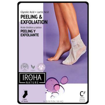 Sosete exfoliante Iroha Peeling&Exfoliation 20ml
