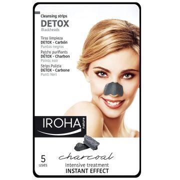 Почистващи ленти Iroha Detox Charcoal 5мл