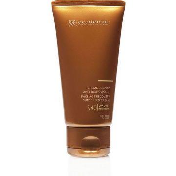 Слънцезащитен крем за лице  против бръчки Academie Bronzecran SPF40 50мл