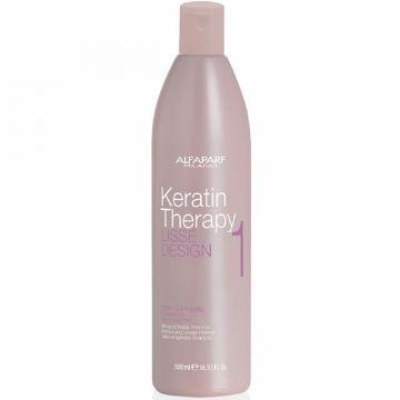 Sampon Alfaparf Milano Keratin Therapy Lisse Design Deep Cleansing 500ml