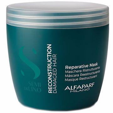 Възстановяваща маска за коса Alfaparf Milano Semi Di Lino 500мл
