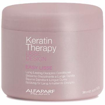 Balsam de par Alfaparf Milano Keratin Therapy Lisse Design Easy Lisse 500ml