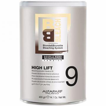 Pudra decoloranta Alfaparf Milano Blonde&Brunette Bleaching System High Lift 9 400g