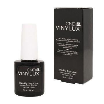 Лак за нокти седмичен  CND Vinylux Top Coat 15 мл