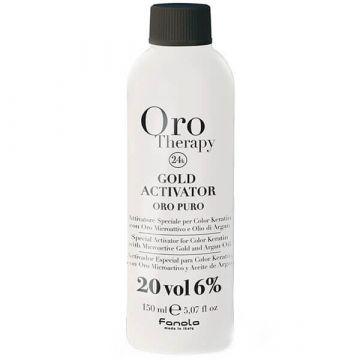 Активатор за боя за коса  Fanola Gold Therapy Gold Activator 20 Vol. 150мл