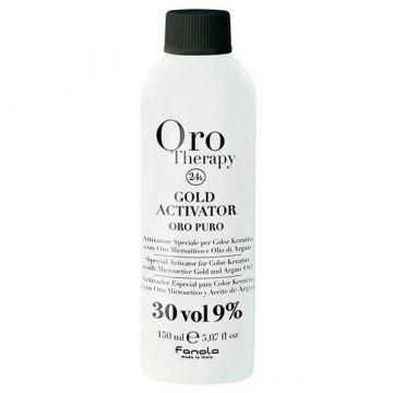 Активатор за боя за коса  Fanola Gold Therapy Gold Activator 30 Vol. 150мл