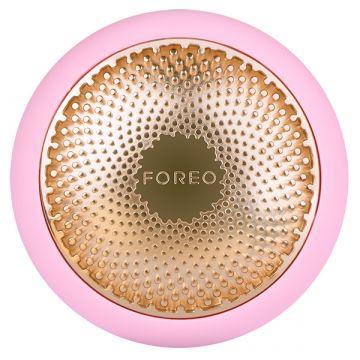 Уред за терапия за лице Foreo UFO Pearl Pink за усилване на ефекта от маската