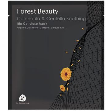 Маска за лице Forest Beauty Calendula & Centella Soothing Bio Cellulose 30мл