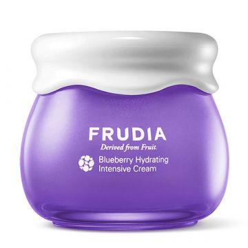 Интензивно хидратиращ крем за лице  Frudia с боровинки 55гр