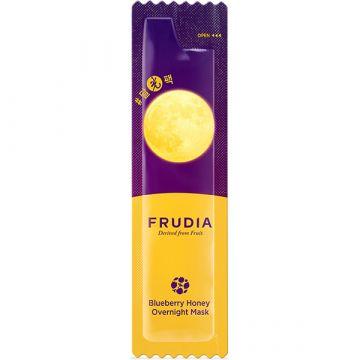 Нощна маска за лице Frudia с боровинки и мед 1бр