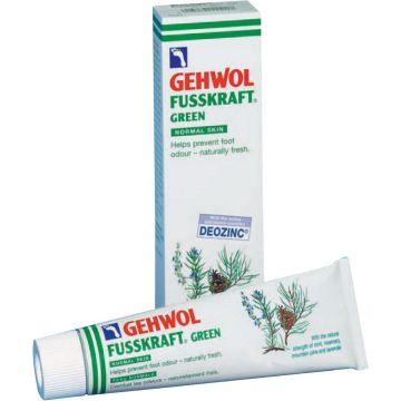 Crema antiperspiranta Gehwol Fusskraft Green pentru picioare 75ml