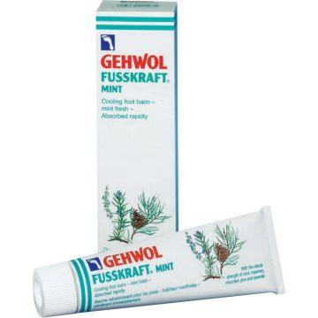 Crema revitalizanta Gehwol Fusskraft Mint pentru picioare obosite 75ml