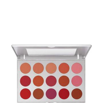 Paleta fard de obraz Kryolan Profesional blush 15 nuante 37.5g