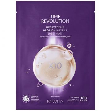 Masca de fata Missha Time Revolution Night Repair Probio 40g