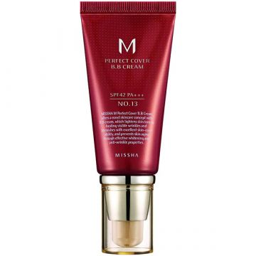 BB Крем Missha Perfect Cover SPF42/PA+++ Bright Beige 20мл