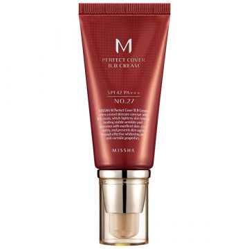 BB Cream Missha Perfect Cover SPF42/PA+++ Honey Beige 50ml