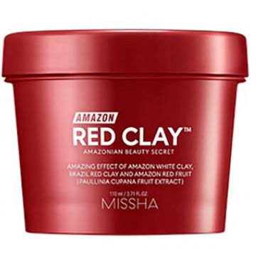 Masca de fata Missha Amazon Red Clay Pore 110ml