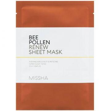 Masca de fata Missha regenaratoare cu polen de albine 25ml