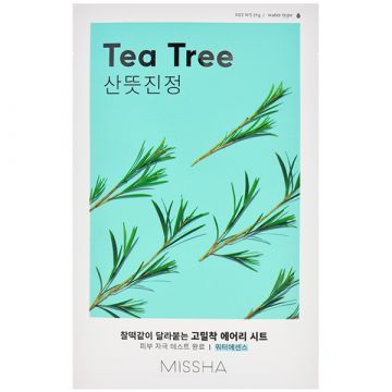 Masca de fata Missha Airy Fit cu arbore de ceai 19g