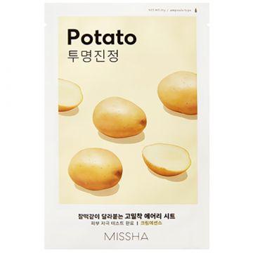 Masca de fata Missha Airy Fit cu cartof 19g