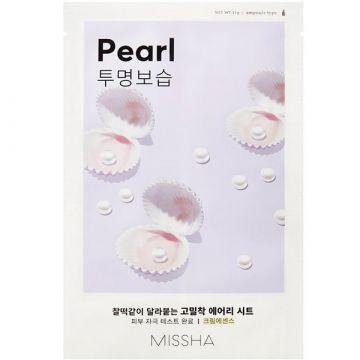 Masca de fata Missha Airy Fit cu perle 19g