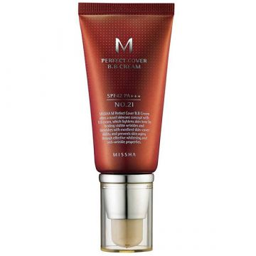 BB Cream Missha Perfect Cover SPF42/PA+++ Light Beige 20ml