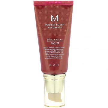 BB Cream Missha Perfect Cover SPF42/PA+++ Light Beige 50ml