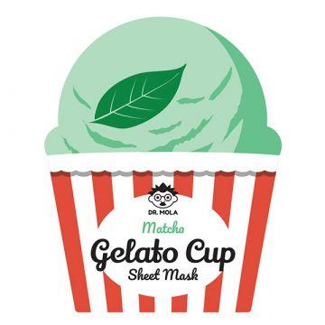 Маска за лице Dr. Mola Matcha Gelato Cup Sheet Mask 23мл