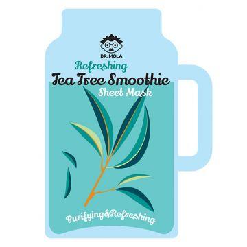 Masca de fata Dr. Mola cu smoothie revigorant de arbore de ceai 23ml
