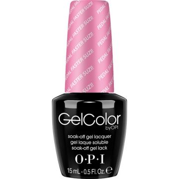 Лак за нокти полутраен Opi Gelcolor Pedal Faster Suzi! 15мл