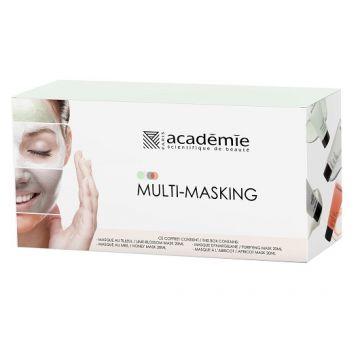 Комплект маски за лице Academie multimasking 4x20мл