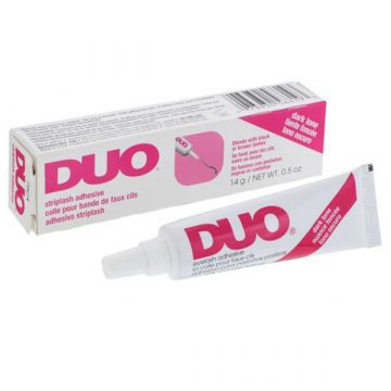 Adeziv gene false Duo Quick Set negru 14g