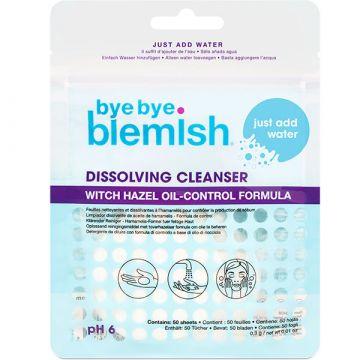 Dischete demachiante Bye Bye Blemish Dissolving Cleanser 50buc