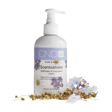Lotiune CND Scentsation Wildflower & Chamomile pentru hidratare 245ml